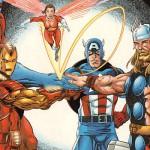 Los Vengadores, Thor y Capitán América