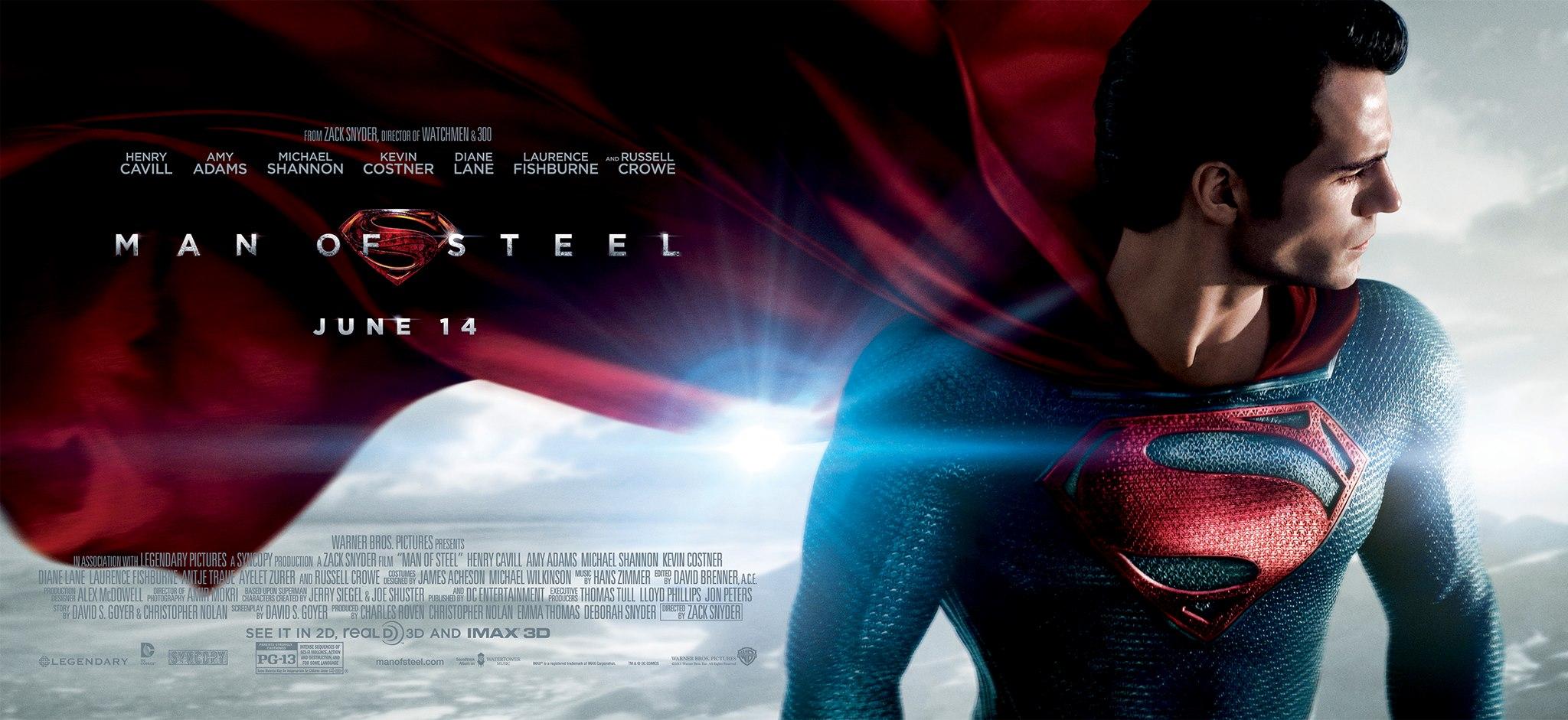 El hombre de acero (Man of Steel, 2013) de Zack Snyder