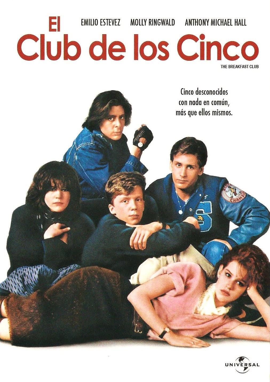 Critica El club de los cinco (The Breakfast Club, 1985)