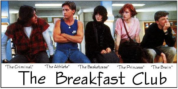 Critica El club de los cinco (The Breakfast Club, 1985)