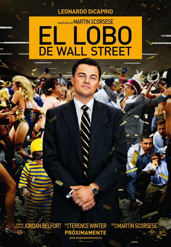 Critica El lobo de Wall Street (The Wolf of Wall Street, 2013)
