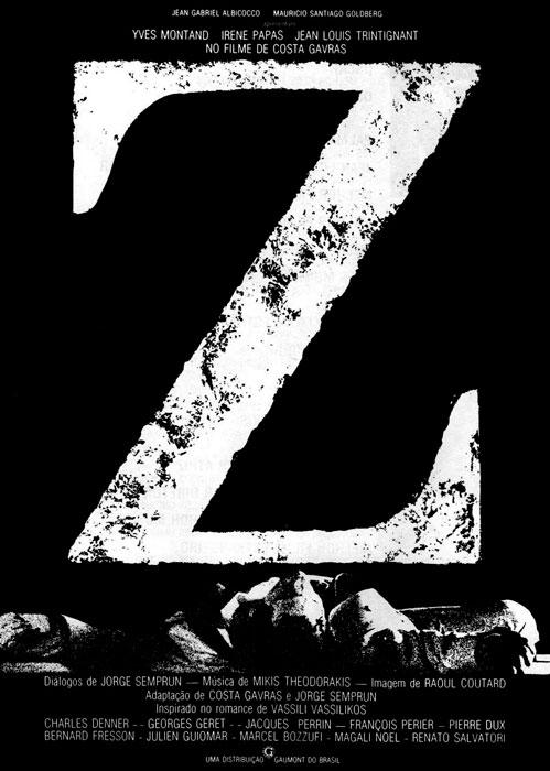 Critica Z (1969) de Costa-Gavras
