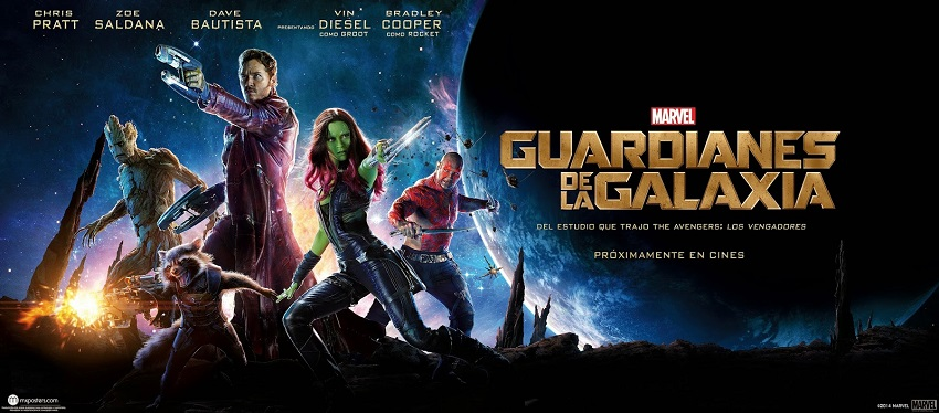 Critica Guardianes de la Galaxia