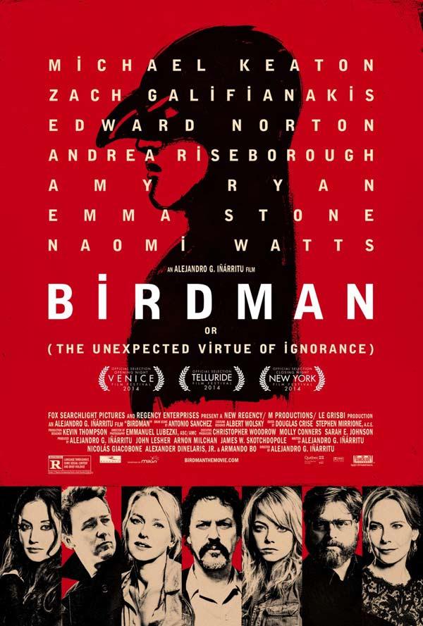 Crítica Birdman (o La inesperada virtud de la ignorancia) (2014)