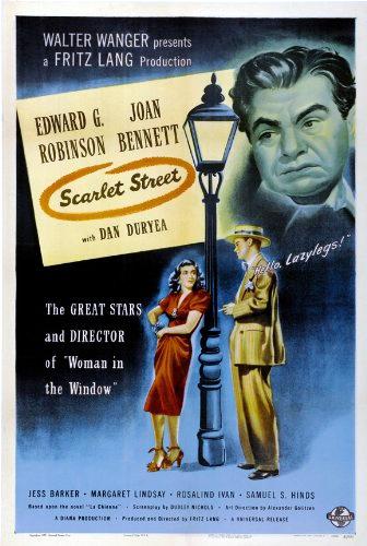 Zinefilos - Blog de Cine - Crítica Perversidad (Scarlet Street, 1945)